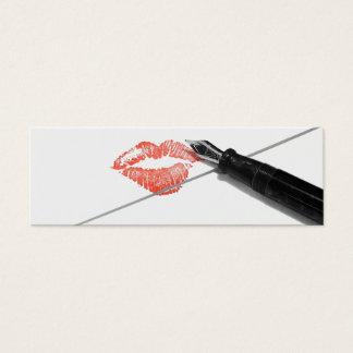 Love Letter Mini Business Card