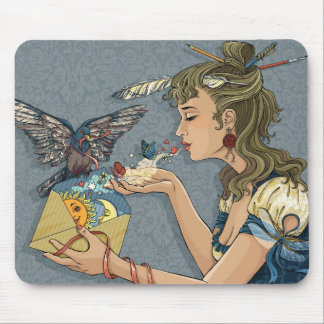 Love letter mouse pad