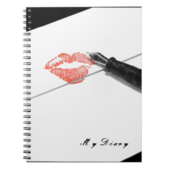 "Love Letter ""My Diary"" Notebook"