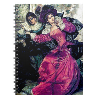Love letter painting notebook