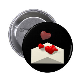 Love Letter Pinback Buttons