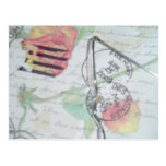 Love Letter- Postmarks Postcard