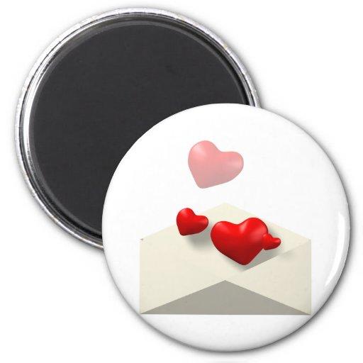 Love Letter Refrigerator Magnet