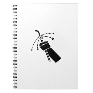 Love letter spiral note book
