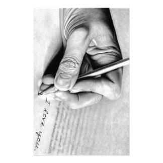 love letter stationery