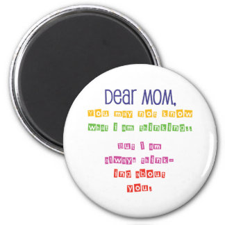 Love letter to Mom Magnet