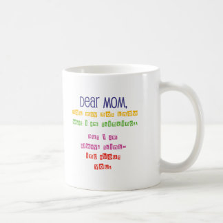 Love letter to Mom Mugs