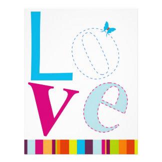 Love Custom Letterhead