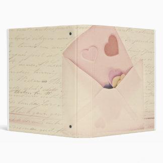 Love letters binder