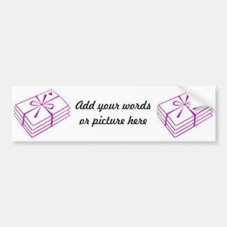Love letters car bumper sticker