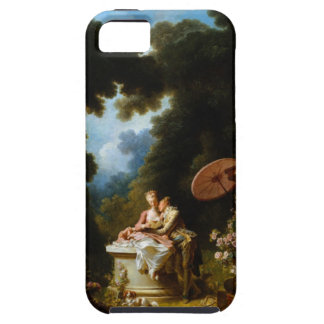 <Love Letters> by Jean Honore Fragonard iPhone 5 Cover