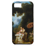 <Love Letters> by Jean Honore Fragonard iPhone SE/5/5s Case