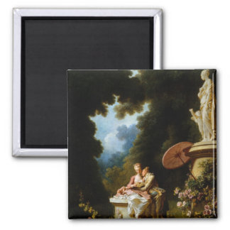 Love Letters by Jean Honore Fragonard Magnet