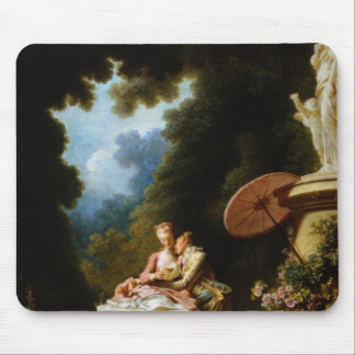 Love Letters by Jean Honore Fragonard Mouse Pad