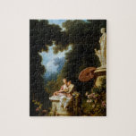 Love Letters by Jean Honore Fragonard Puzzle