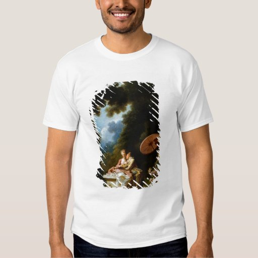 Love Letters by Jean Honore Fragonard T-Shirt