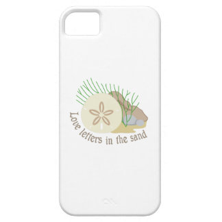 LOVE LETTERS IN THE SAND iPhone 5 COVERS
