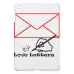 Love letters iPad mini case