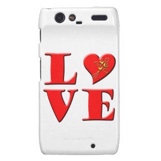 LOVE Letters L♥VE Motorola Droid RAZR Cases