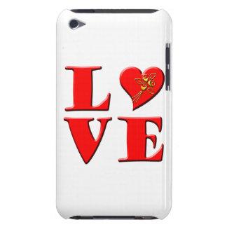 LOVE Letters L♥VE iPod Case-Mate Cases