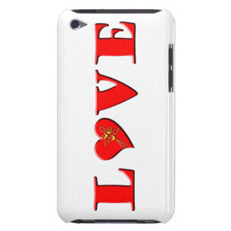 LOVE Letters L♥VE Barely There iPod Covers