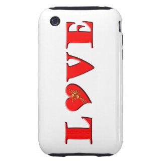 LOVE Letters L♥VE iPhone 3 Tough Case