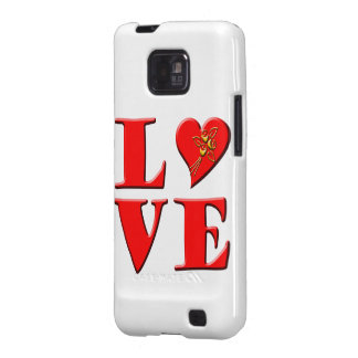 LOVE Letters L♥VE Galaxy SII Cases