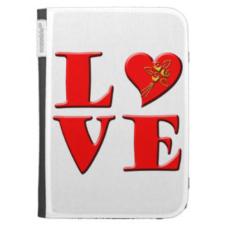 LOVE Letters L♥VE Kindle 3G Cover