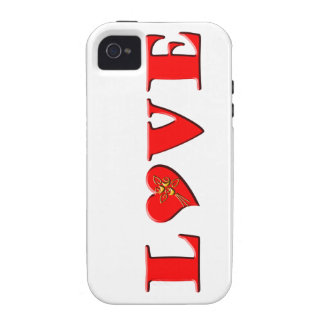 LOVE Letters L♥VE Vibe iPhone 4 Case