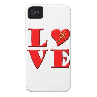 LOVE Letters L♥VE iPhone 4 Case-Mate Case