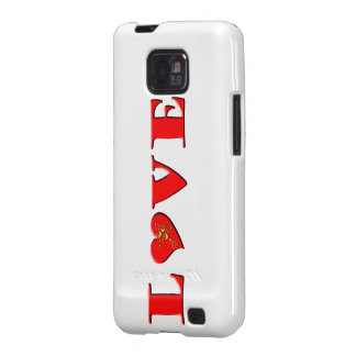 LOVE Letters L♥VE Samsung Galaxy SII Case