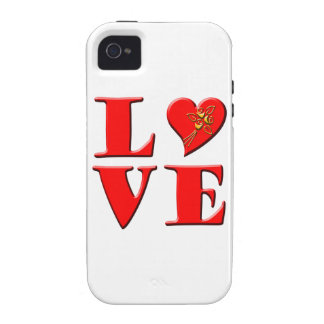 LOVE Letters L♥VE iPhone 4 Cover