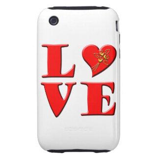 LOVE Letters L♥VE Tough iPhone 3 Case