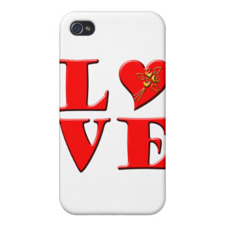 LOVE Letters L♥VE Cover For iPhone 4