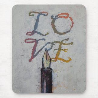 Love Letters Mouse Pad