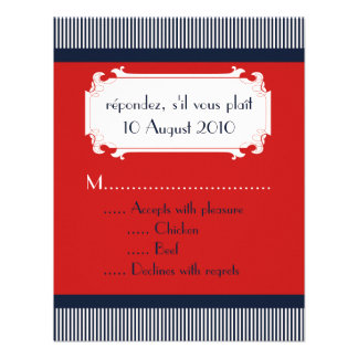 Love Letters Nautical RSVP Wedding Invitations