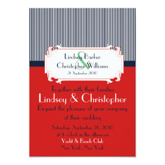 Love Letters Nautical Wedding Invitations
