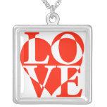 Love Letters Pendants