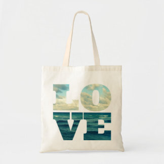 LOVE LETTERS OCEAN PHOTO BAG