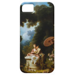 <Love Letters> por Jean Honore Fragonard iPhone 5 Case-Mate Protector