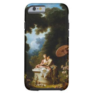 <Love Letters> por Jean Honore Fragonard Funda Para iPhone 6 Tough