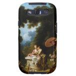 <Love Letters> por Jean Honore Fragonard Galaxy S3 Carcasa