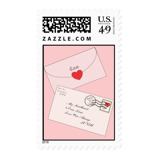 Love Letters Postage