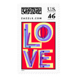 Love Letters Postage Stamp