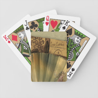 Love Letters Valentine Bicycle Playing Cards