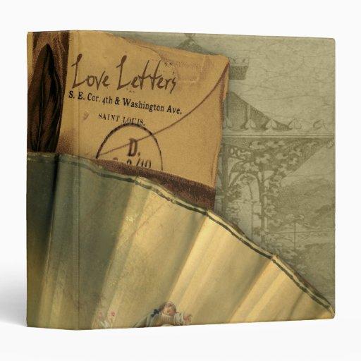 Love Letters Valentine Vinyl Binder