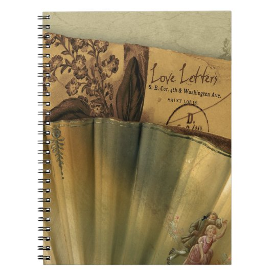 Love Letters Valentine Spiral Notebook
