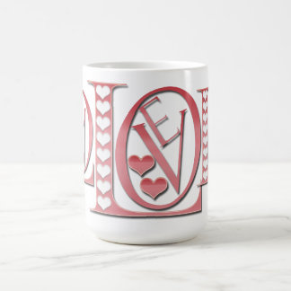 Love Letters With Hearts by Shirley Taylor Coffee Mug