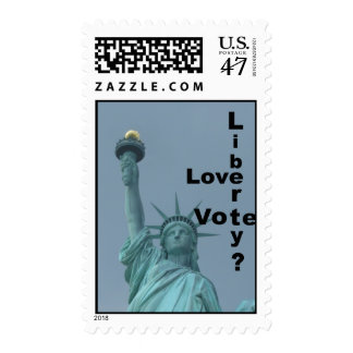 Love Liberty? Vote! Postage