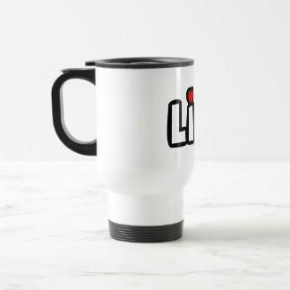 Love Life 15 Oz Stainless Steel Travel Mug